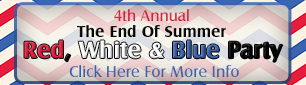 4th Annual Red White & Blue Party, Benefiting Fragile X Syndrome & Autism Charities, Saturday September 20, 2014
